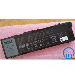 Pin Dell Precision 15 (7510) , 17 (7710)  MFKVP Battery For Dell 11.4V 91Wh